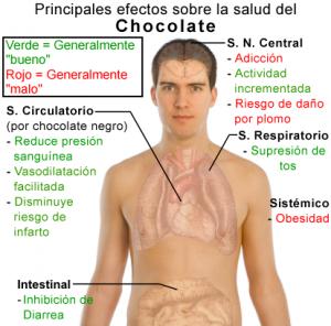 Efectos del chocolate como antioxidante